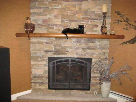 Stunning Fireplace Mantel Shelf Ideas Designcanyon