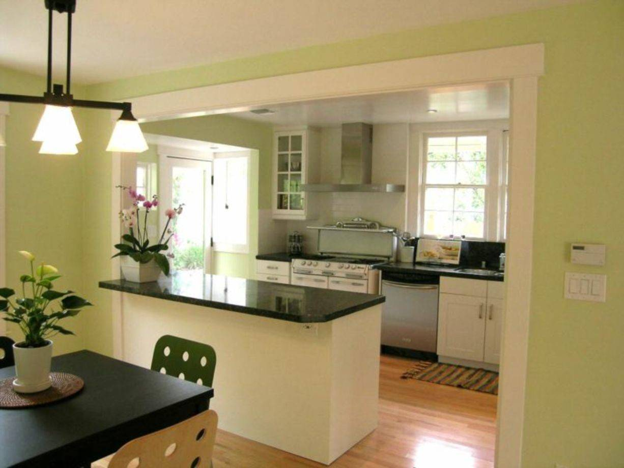 Awesome Half Wall Kitchen Designs