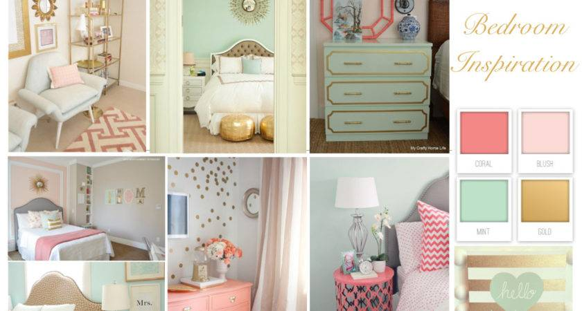 Stunning Light Pink Gold Bedroom Trends