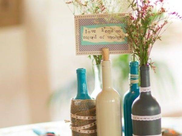 Stunning Wine Bottle Centerpieces Never Thought