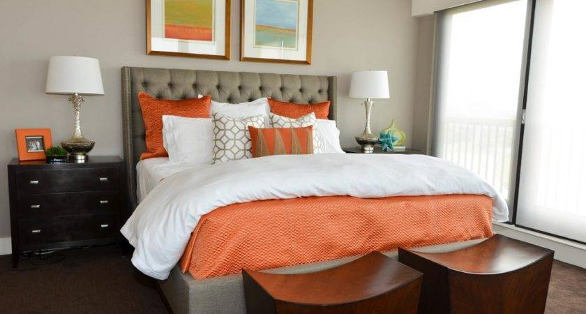 Stupefying Coral Brown Bedding Decorating Ideas