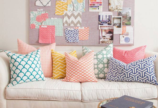 Stupefying Throw Pillows Couch Decorating Ideas