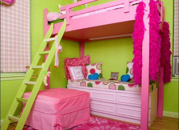 Stylish Bunk Beds Young Girls Room Design Inspirations