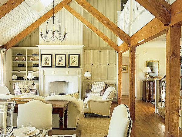 Stylish Cottage Living Decorating Ideas