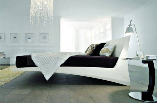 Stylish Floating Bed Design Ideas Contemporary Home