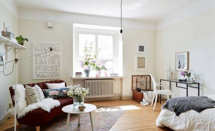 Stylish Small Studio Apartments Decorations