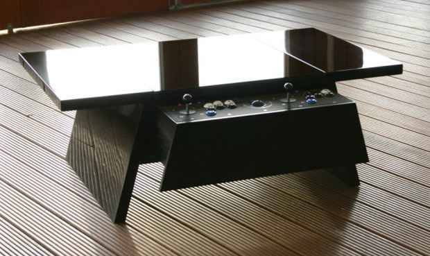 Surface Tension Double Arcade Coffee Table Novo Magazine