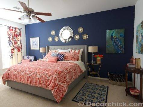 Surprise Redid Our Master Bedroom Again Navy