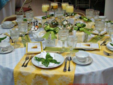 Table Decor Ideas Part Women Ministry Toolbox