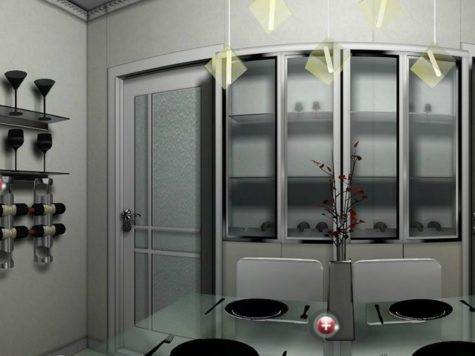 Table Wall Cabinet Design Dining Room House