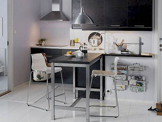 Tall Kitchen Tables Small Spaces Home Design Ideas