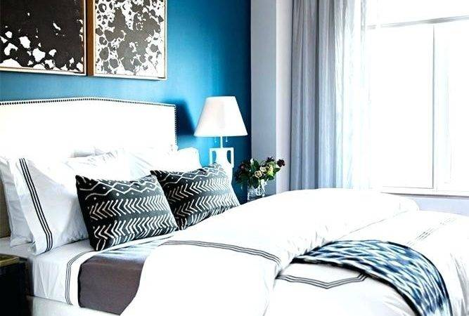 Teal Accent Wall Bedroom Colors