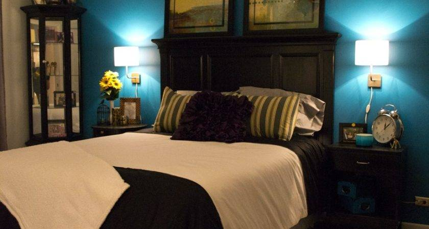 Teal Brown Bedroom Decor Ideas