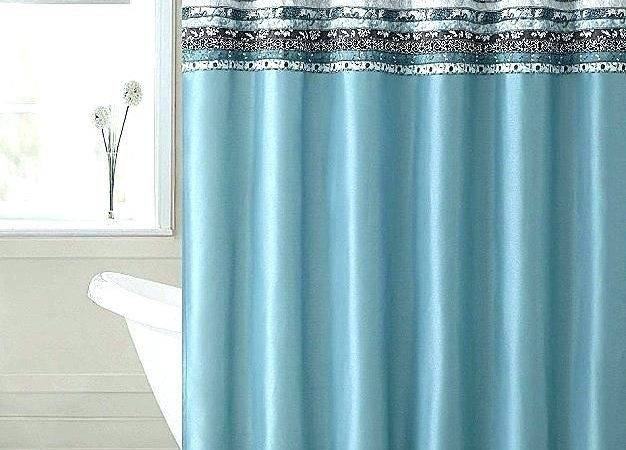 Teal Brown Curtains Beautiful Blue Curtain Striped
