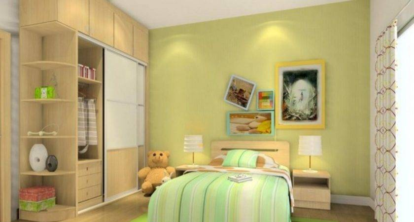 Teen Bedroom Wall Interior Design
