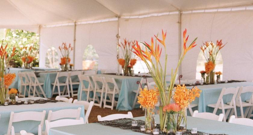 Tented Receptions Palette Crisp White Turquoise
