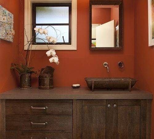 Terra Cotta Wall Color Ideas Remodel Decor