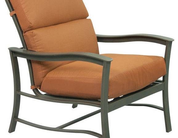 Terracotta Lounge Chair Contemporary Outdoor