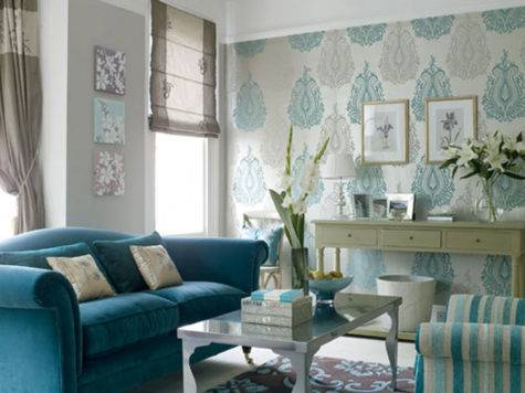 Texture Teal Turquoise Bold Beautiful