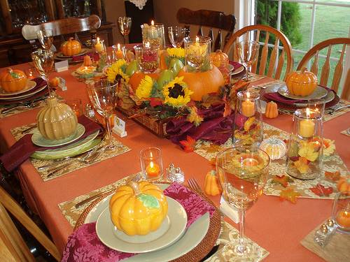 Thanksgiving Tables Good Ideas Tips