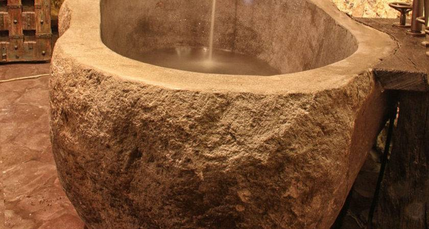 These Most Impressive Natural Stone Bathtubs