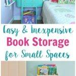 These Small Space Book Storage Ideas Great