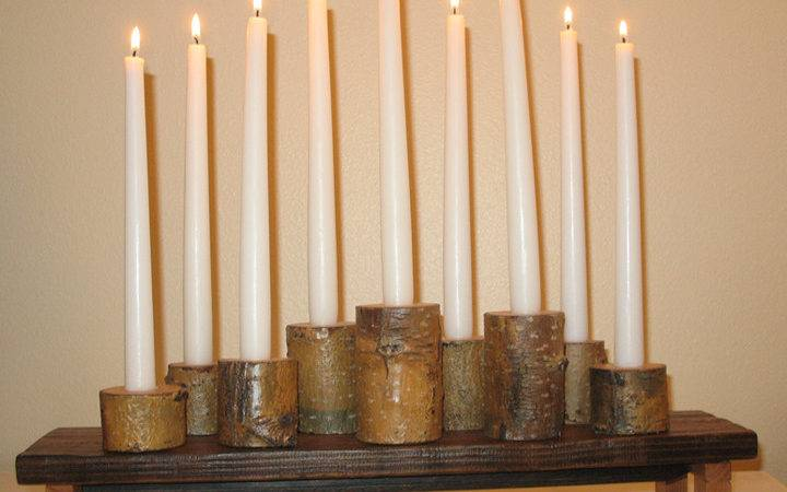 Think Likely Tree Branch Candle Holder Centerpiece