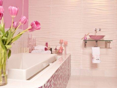 Think Pink Girly Bathroom Ideas Best Friends Frosting
