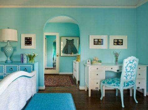 Tiffany Blue Rooms Decorating Ideas