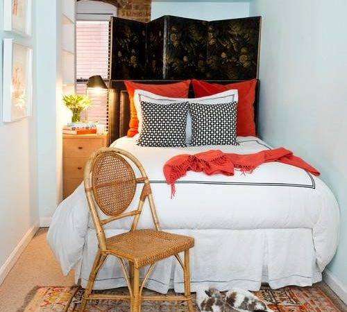 Tips Make Small Bedroom Look Great
