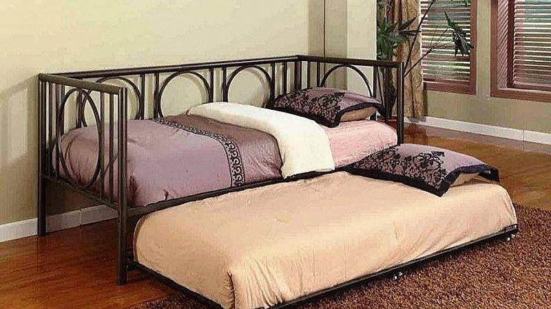 Toddler Bed Luxury Metal Frame Whi Popengines