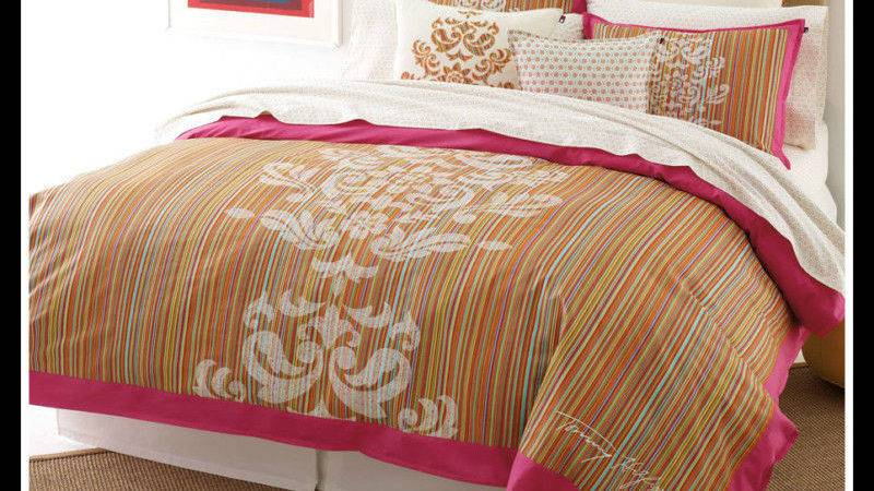 Tommy Hilfiger Piper Twin Duvet Cover Shams New