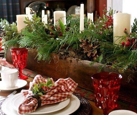 Top Christmas Table Set Designs Easy Happy New