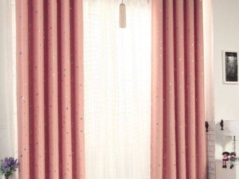 Top Cozy Curtains Patchwork Striped