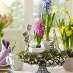 Top Spring Flower Easter Table Centerpieces April