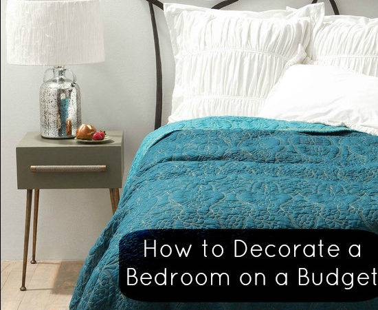 Top Tips Decorate Bedroom Budget Love