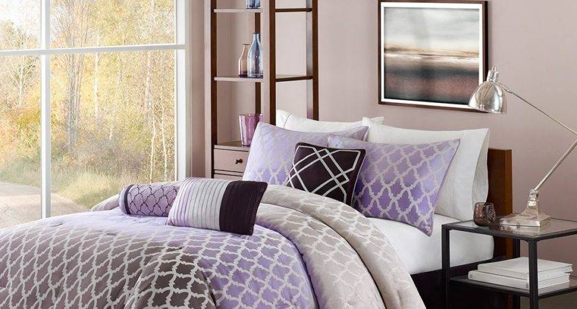 Total Fab Purple Black White Bedding Sets Drama Uplifted