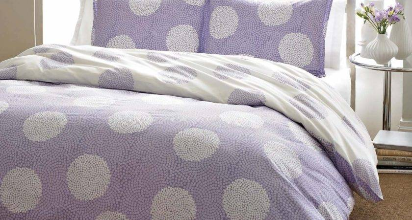 Total Fab Purple Polka Dot Bedding