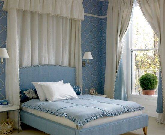 Traditional Blue Bedroom Decorating Ideas