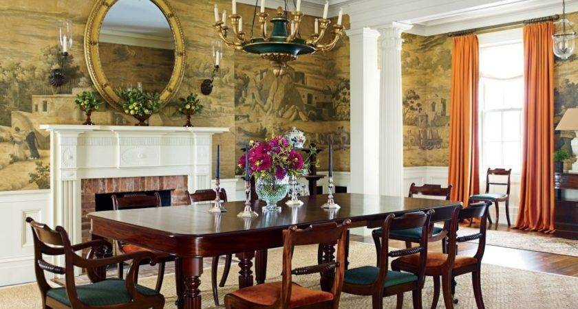 Traditional Dining Room Schafer Architect