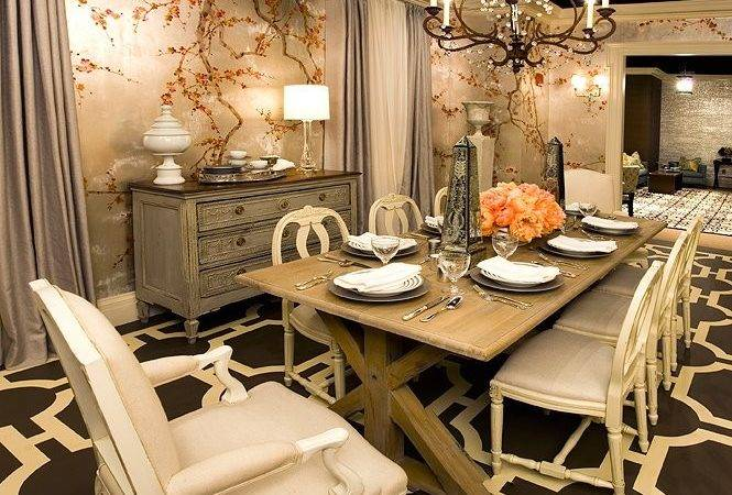 Traditional Home Dining Rooms Design Scrappy