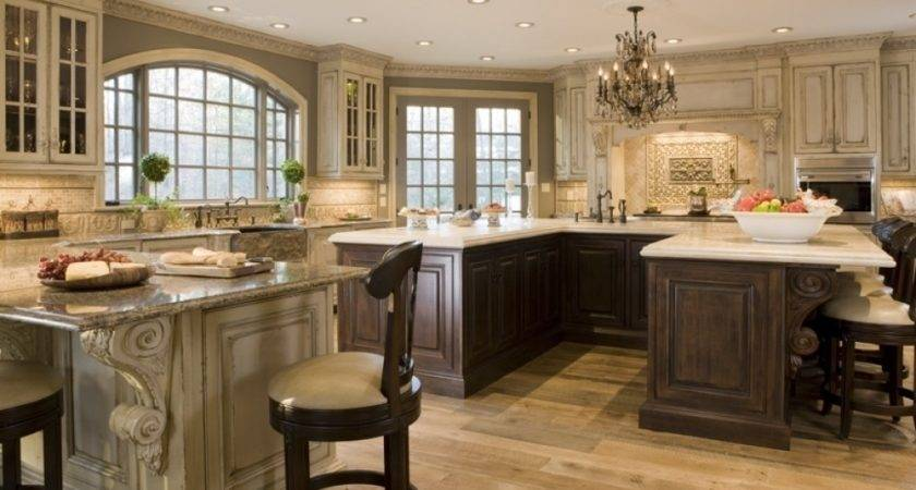 Traditional Industrial Design Kitchen Victorian
