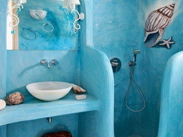 Tranquil Colors Inspired Sea Bathroom Designs