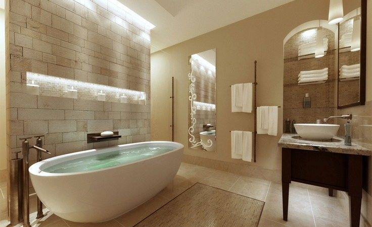 Tranquil Spa Inspired Bathroom Inspiration