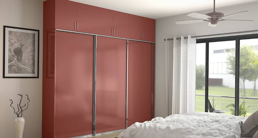 Trendy Wardrobe Door Designs Homelane