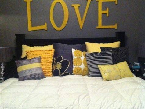 Truly Love Grey Yellow Together Can Not Get Enough