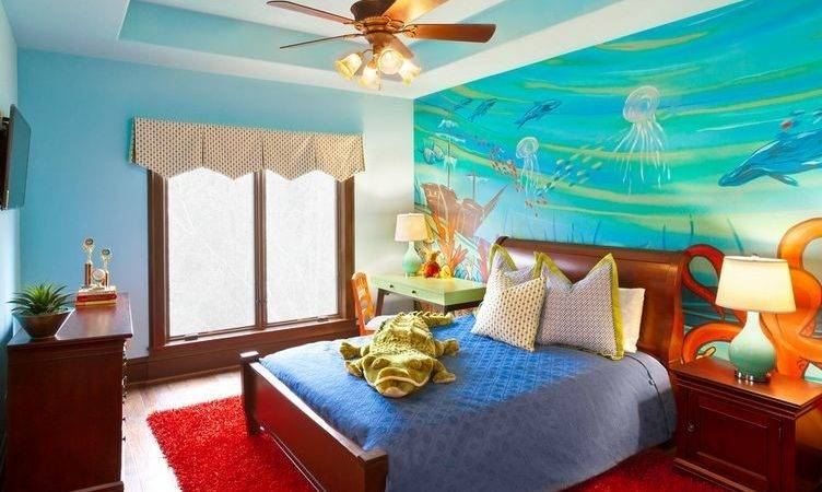 Turn Your Bedroom Into Underwater Themed Space