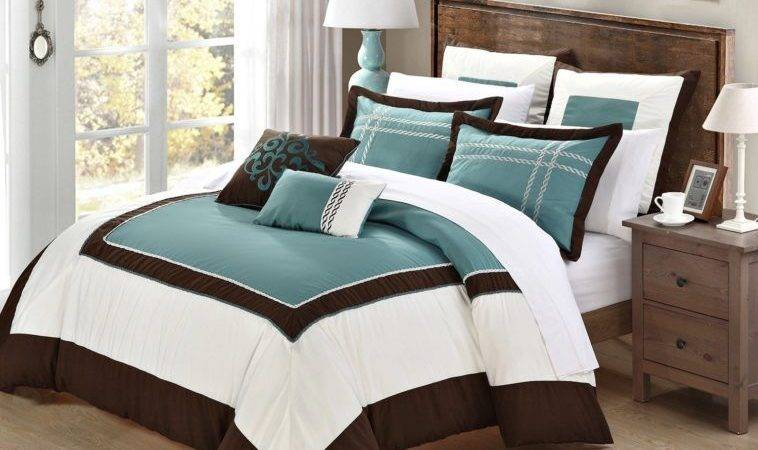 Turquoise Brown Bedding Comforter Sets King Also