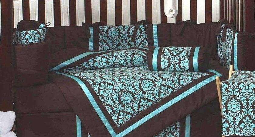 Turquoise Brown Bedroom Decorate House