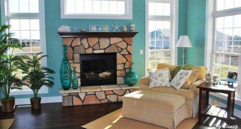 Turquoise Brown Home Decor